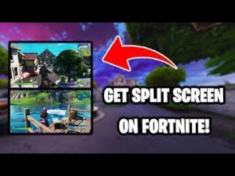 HOW TO DO SPLIT SCREEN on FORTNITE ( PS4,Xbox One Tutorial ...