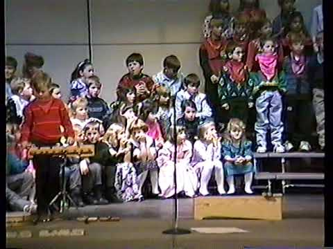 Olmsted Elementary School Music Program 11-18-1991 (clip 2of3)