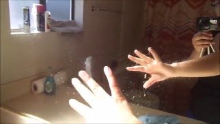 Como limpiar un espejo Sucio Facil y rápido, cero pañoso, déjalo brillante