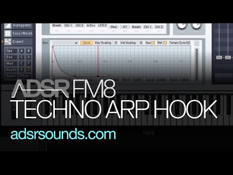 NI FM8 - Techno Arp Hook - How To Tutorial