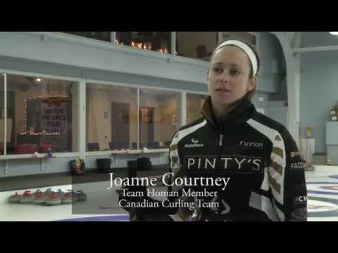 Joanne Courtney, Team Homan Member, Canadian Curling Team