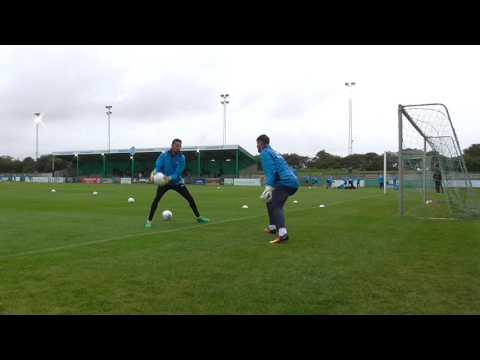 Blyth Spartans AFC v York City FC (Goalkeeper Warm Up)