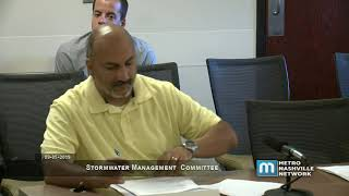 09/05/19 Stormwater Management Committee