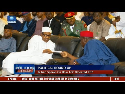 Political Round-Up: Buhari Speaks On How APC Defeated PDP |Politics Today|