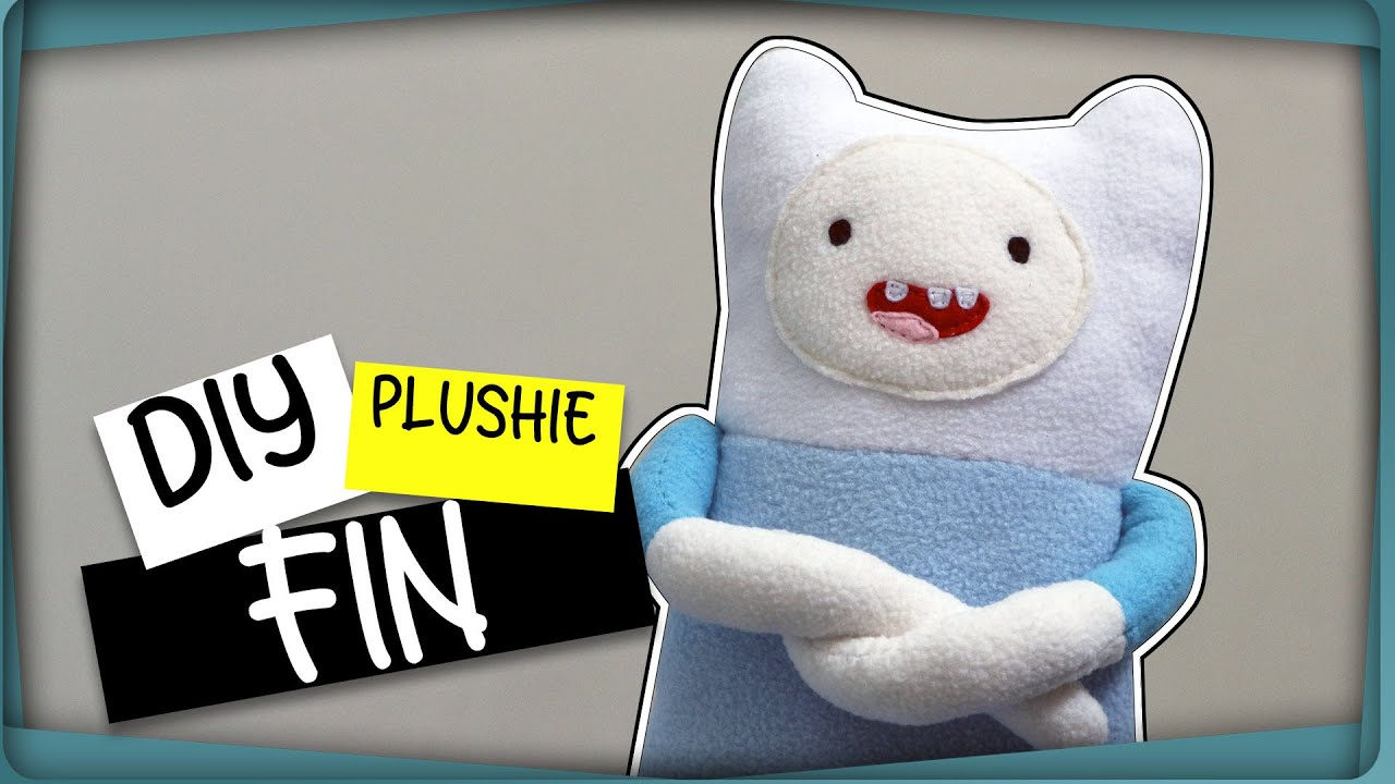 made to order Finn the Human Adventure Time plushie