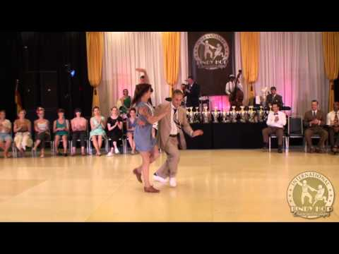 ILHC 2014 - Invitational Lindy JnJ - Skye Humphries & Annie Trudeau