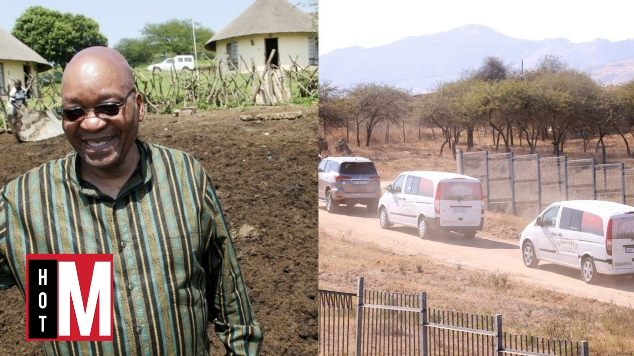 Jacob Zuma Spends His First Night In Nkandla After Being Hospitalised