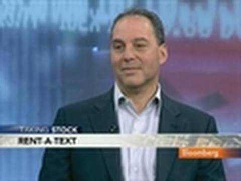 Rosensweig Discusses Chegg, Textbook Rental Service: Video