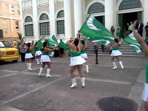 University of Puerto Rico Mayaguez - Drill team at 100 yr parade