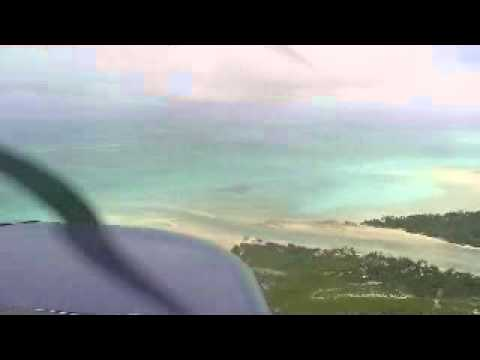 Landing in Tarawa in a Cessna 206 Crossing the Pacific, Ocean