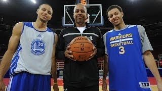 The Curry Brothers: NBA D-League Family Footsteps Presented by American Express