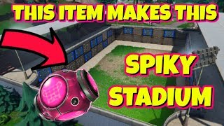 NEW SPIKY STADIUM GAMEMODE ITEM IN FORTNITE PLAYGROUND