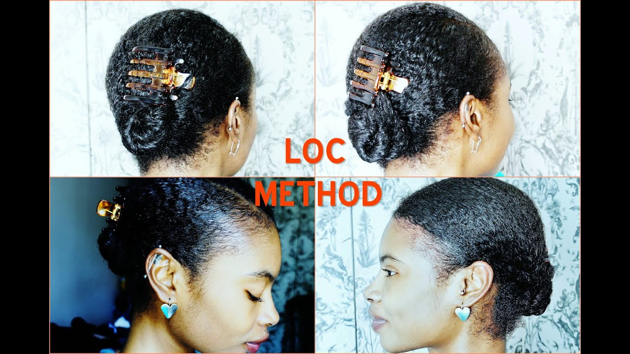 Natural Hair LOC METHOD Long Lasting ShineMoisture