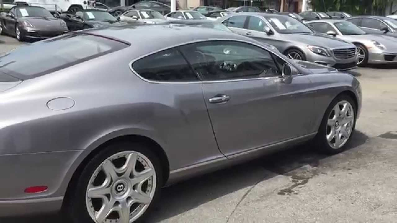 Bentley For Sale At Brickell Luxury Motors Sold Youtube
