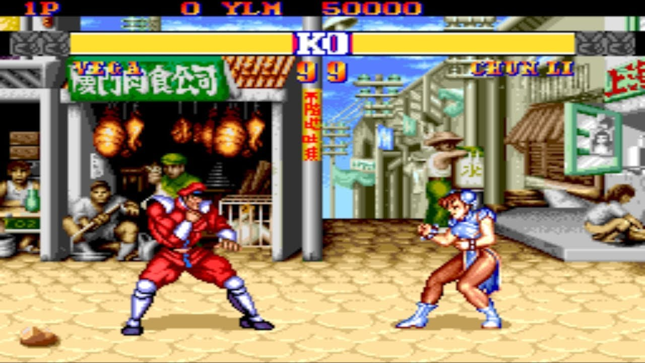 Street Fighter II: Champion Edition [PCE] - M Bison