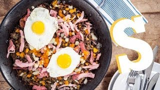 Ham & Cheese Rosti Recipe - Made Personal By Sorted