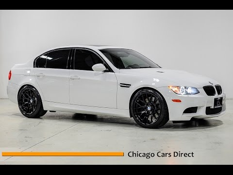 chicago cars direct reviews presents a 2009 bmw m3 sedan. Black Bedroom Furniture Sets. Home Design Ideas