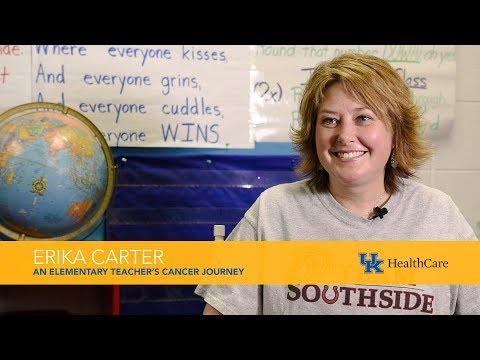 Versailles school teacher, Erika Carter discusses her cancer journey