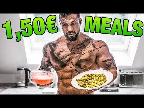 Billiger geht's nicht! Fitness Meals für wenig Geld