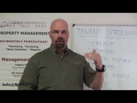 The Tenant Screening Process By Properties
