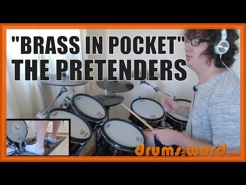 ★ Brass In Pocket (The Pretenders) ★ Drum Lesson PREVIEW | How To Play Song (Martin Chambers)