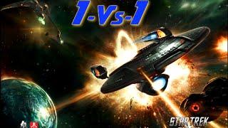 Star Trek Online (1Vs1) #2 Delta Flyer Vs Yellow Stone Runabout