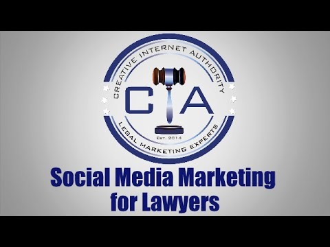 Legal Marketing: Social Media Marketing Strategies for Lawyers and Law Firms