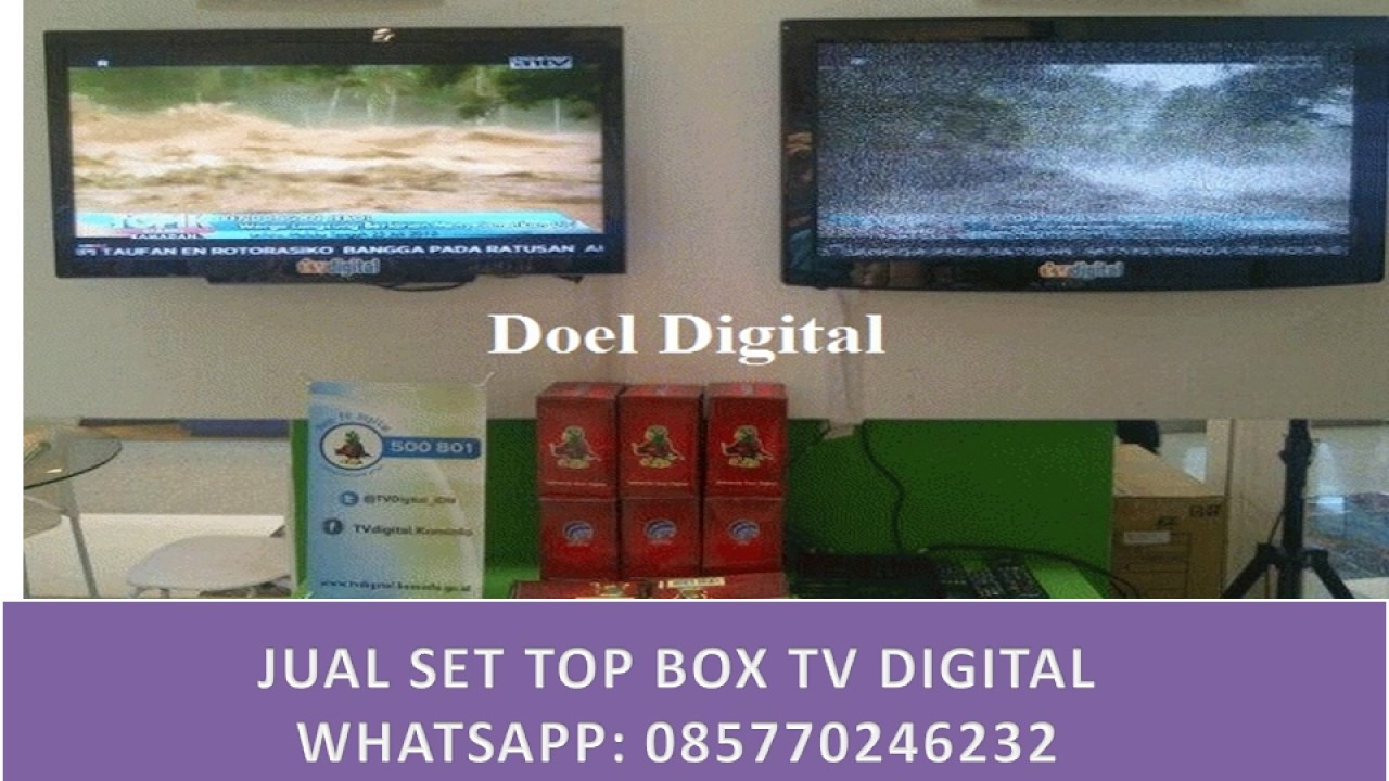 fungsi set top box cara pasang set top