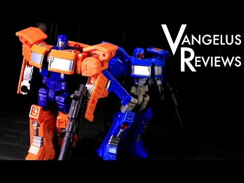 Combiner Wars Legends Huffer and Pipes (Transformers Generations) - Vangelus Review 329-R