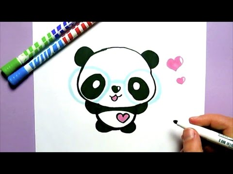 Ein Kawaii Panda Selber Malen Diy Youtube