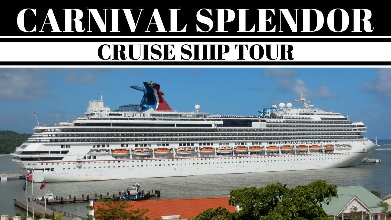 Carnival Splendor Cruise Ship Tour Balcony Stateroom YouTube - Pictures of carnival splendor cruise ship