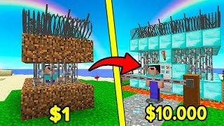 ДЕШЕВАЯ против ДОРОГАЯ Тюрьма в Майнкрафт! ЧТО ВЫБЕРЕТ НУБ? Неудачник Нуб Minecraft Троллинг Мультик
