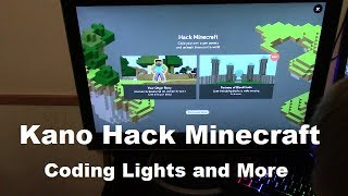 Showing what Kano can do! Hack Minecraft Play Minecraft and Browsing the Web Part 2