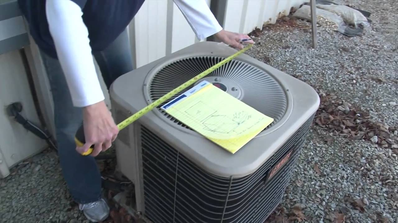 How To Make An Air Conditioner Cover Youtube
