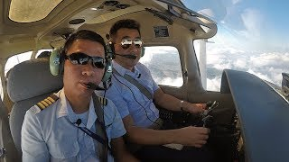 My First Flying Lesson Cessna 172 A320 Full Flight Sim