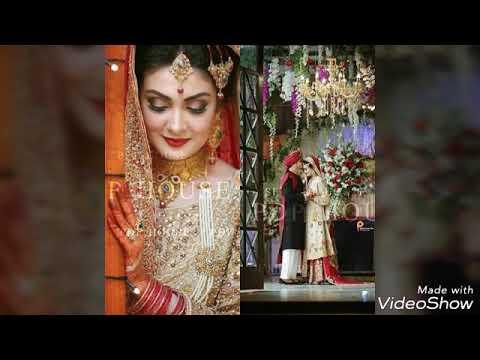 Aleezy Tahir wedding photoshoot looking beautiful ..