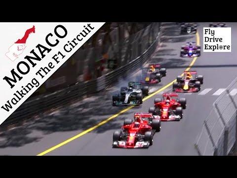 Monaco - Walking The Monte Carlo F1 Grand Prix Circuit
