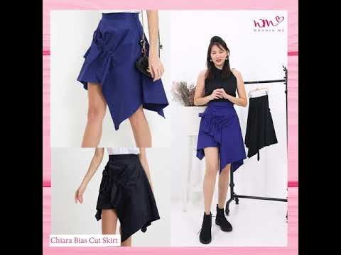 Chiara Bias Cut Skirt