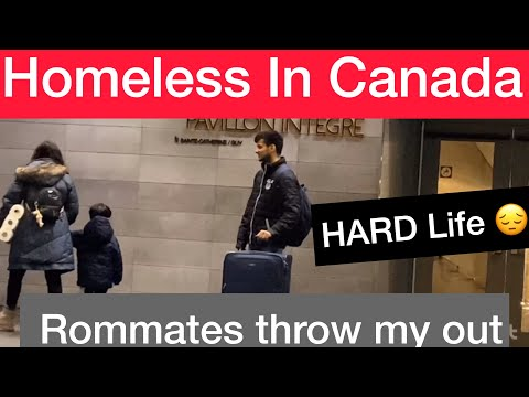 INDIAN STUDENT HOMELESS IN CANADA   Part 1  MUST WATCH   2020