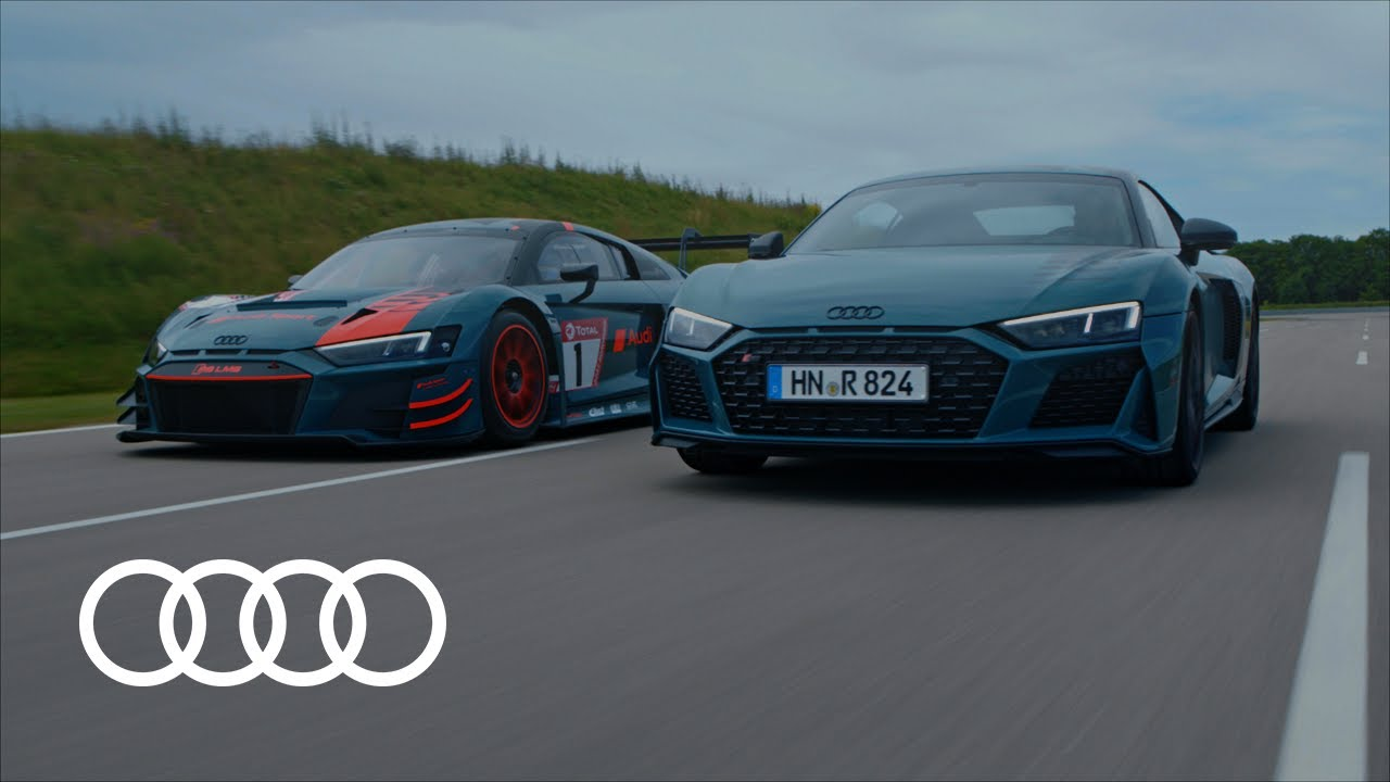 Trailer Audi R8 green hell | Tribute to a great success story