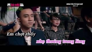 Karaoke Minh yeu nhau tu bao gio
