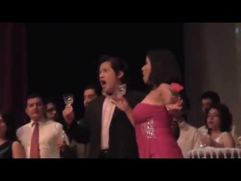 La Traviata, Giuseppe Verdi. Acto I. María Teresa Jasso, soprano