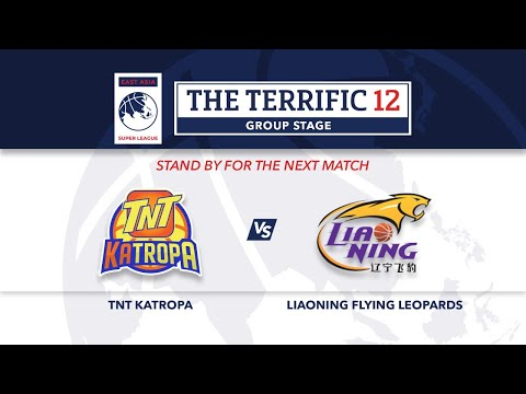LIVE | TNT Katropa Vs Liaoning Flying Leopards | Terrific 12