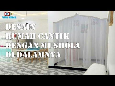 Contoh Rumah Minimalis Modern Terbaru Dengan Mushola di dalamnya