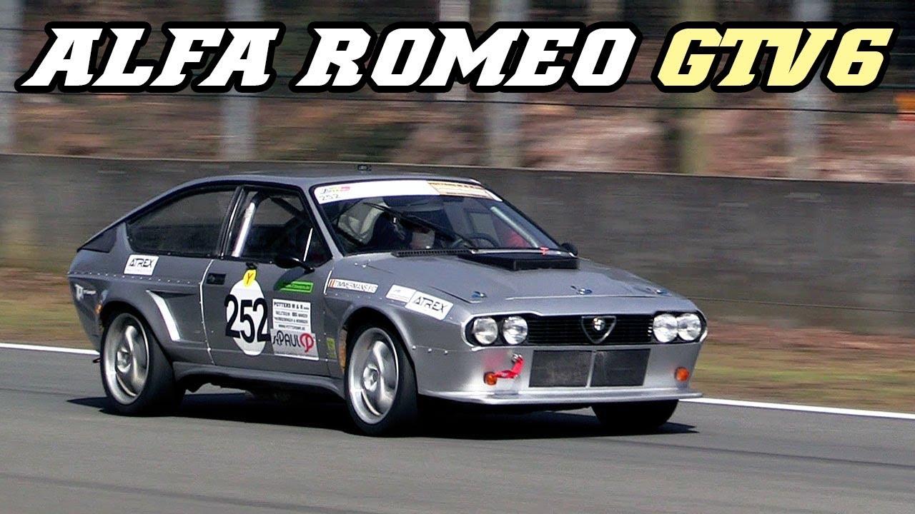alfa romeo gtv6 racecar nice v6 sounds zolder 2018 youtube. Black Bedroom Furniture Sets. Home Design Ideas