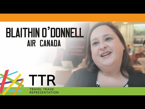 Blaithin O'Donnell, Air Canada - TTR Travel Industry Road Show