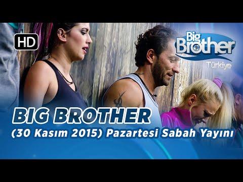 Big Brother Türkiye (30 Kasım 2015) Pazartesi Sabah Yayını İzle