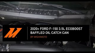 homepage tile video photo for 2020+ Ford F-150 3.5L EcoBoost Baffled Oil Catch Can Installation Guide by Mishimoto