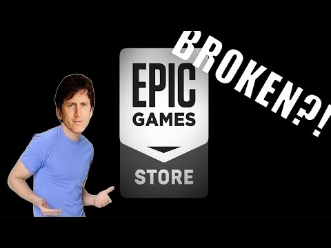 The Epic Games Store is BROKEN and it's Being COVERED UP!