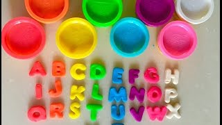 Play Doh Rainbow Alphabet Letters Numbers Fun Abc